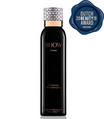 SHOW Beauty Première Dry Shampoo Nominee Dutch Beauty Award 2019